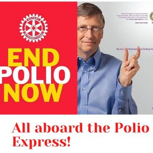 All Aboard the Polio Express!  Oct. 23rd, 2:00 pm at Townhall Station, Platform 3.